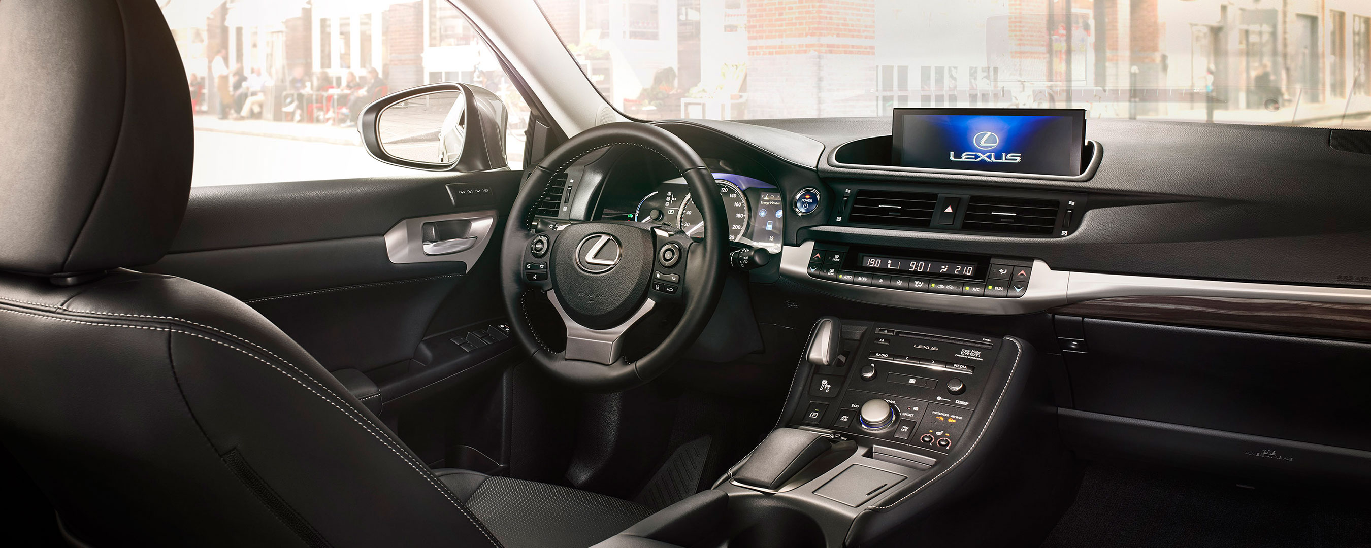 Binnenkant Lexus CT 200h