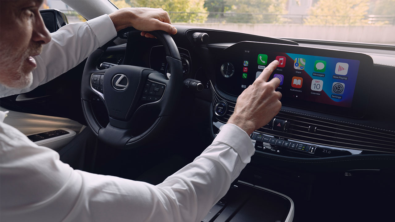 2020 lexus ls experience touchscreen display