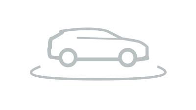 Voorkant van een blauwe Lexus CT 200h
