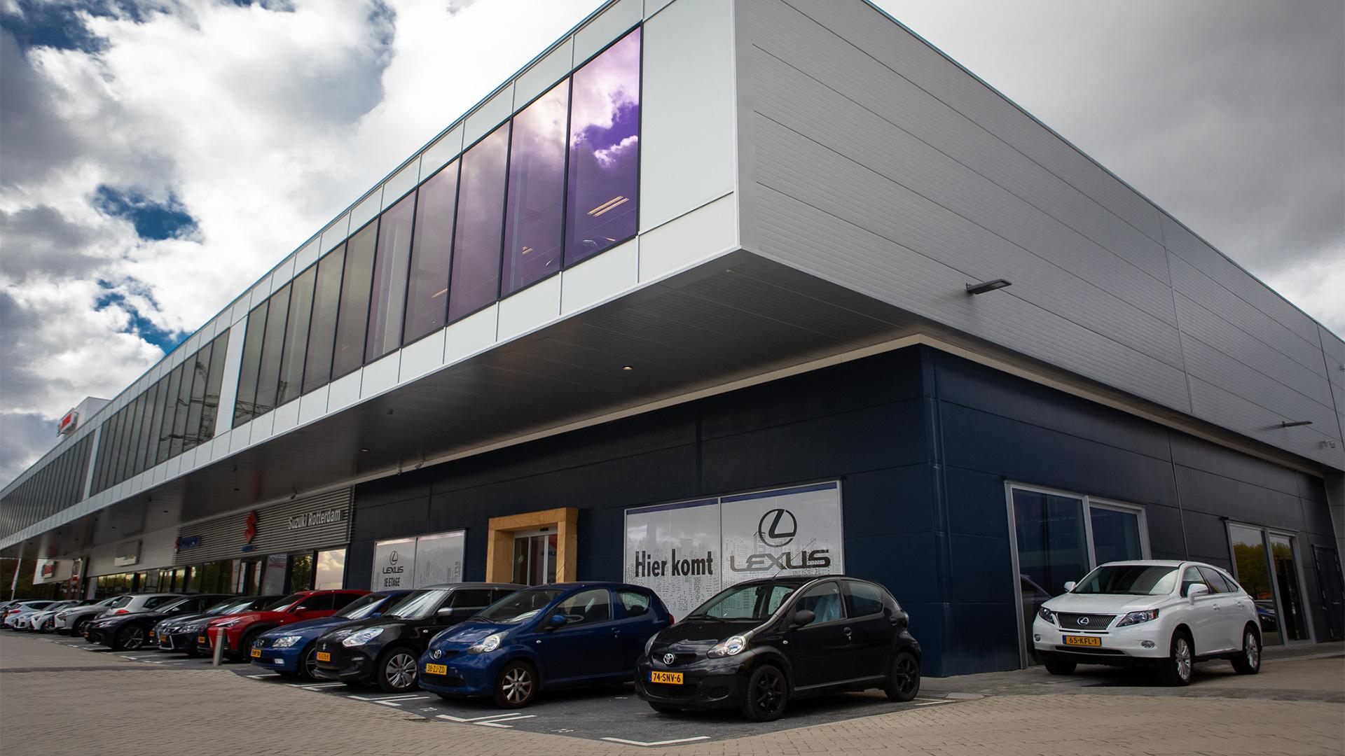 Afbeelding van het pand van Lexus Rotterdam