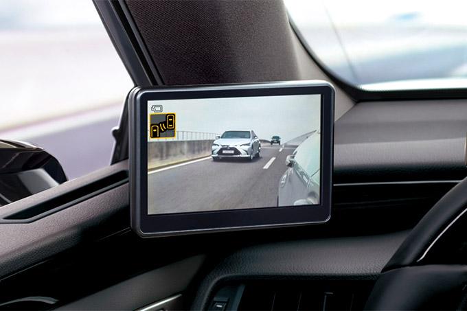 2020 006 digitale buitenspiegels voor Lexus ES IMG2 beter en meer zicht