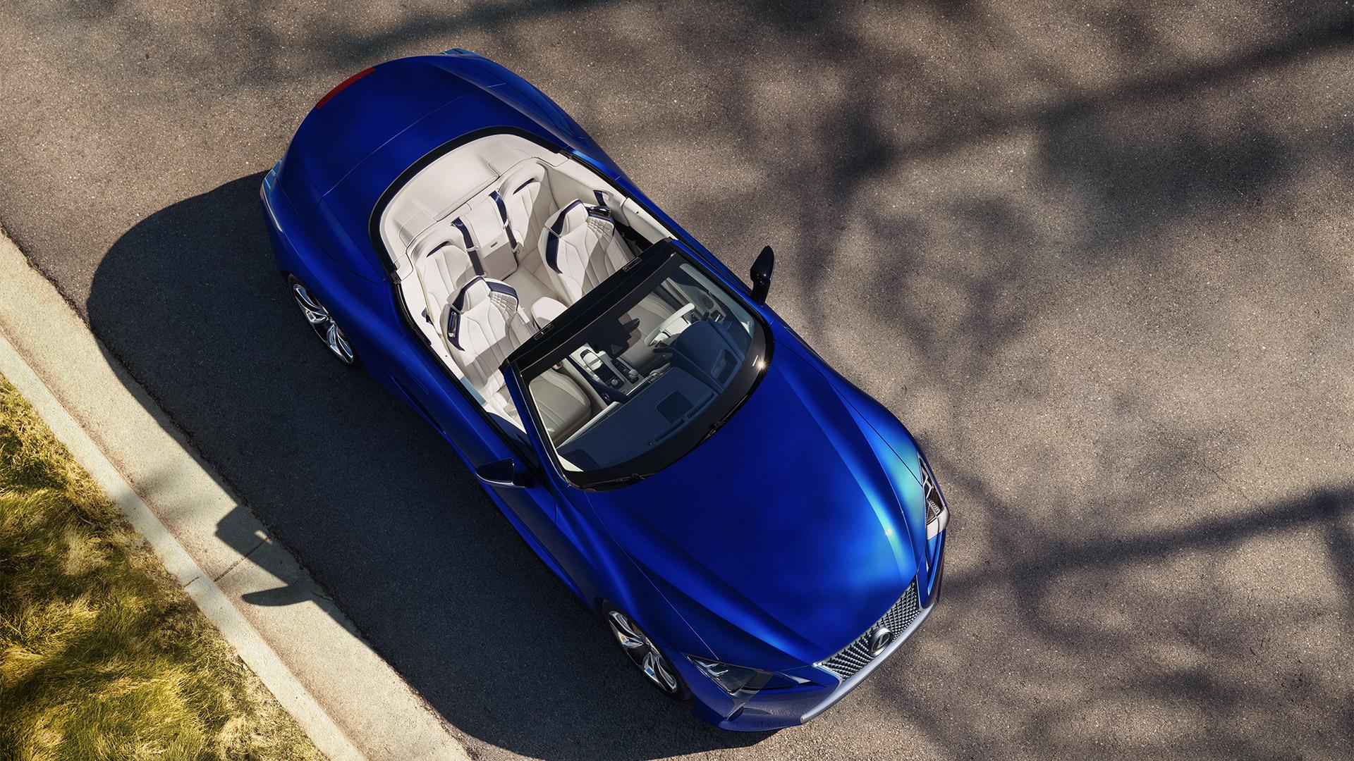 19 2019 027 nieuwe Lexus LC 500 Convertible 1920x1080 galerij