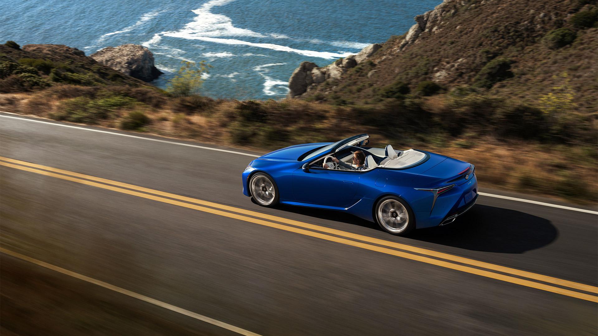 14 2019 027 nieuwe Lexus LC 500 Convertible 1920x1080 galerij