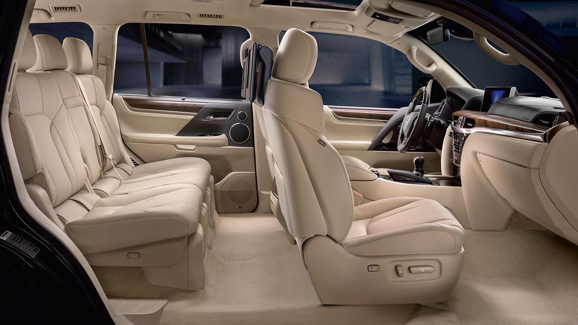 2017 lexus lx 570 features luxury cabin