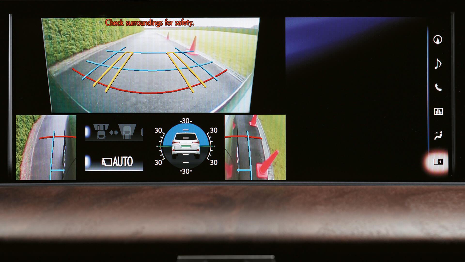 2018 lexus lx feature parking assist monitor