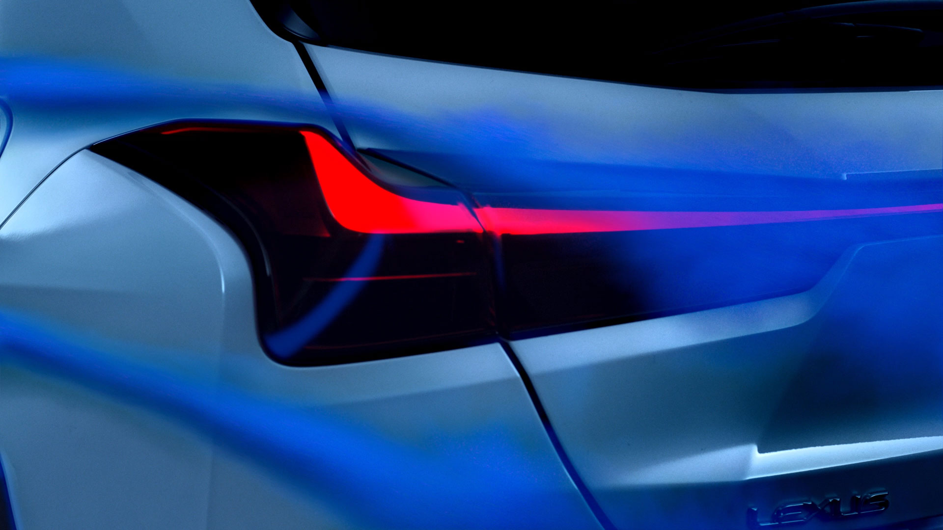2018 lexus ux interactive design hotspot rear lamp