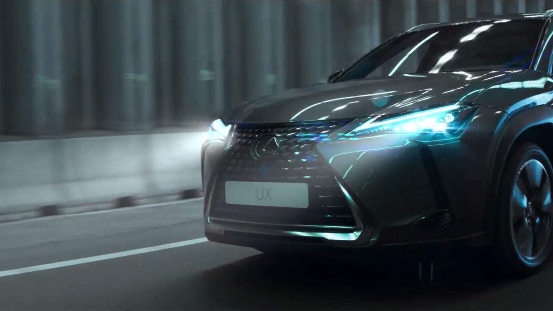 2018 lexus ux interactive technology safety adaptive high beam