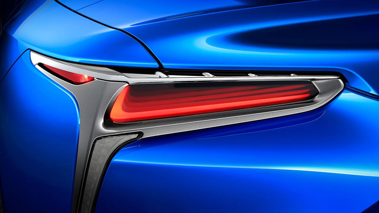 2020 led holographic rear lights