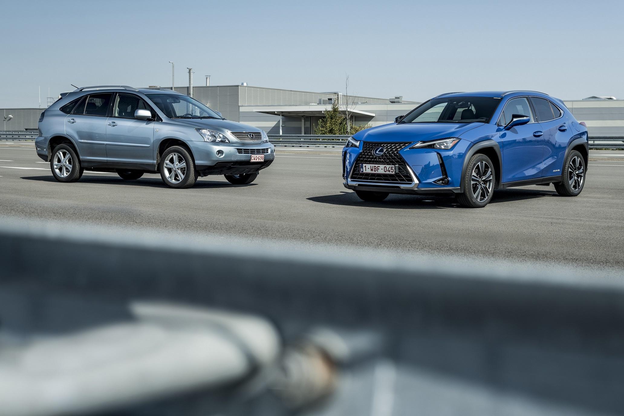 Lexus coloca crossover hibrido ux 250h Image