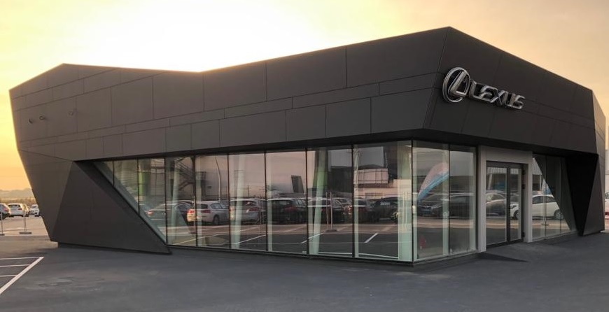 Lexus prossegue a expansao da sua rede com novas instalacoes em faro
