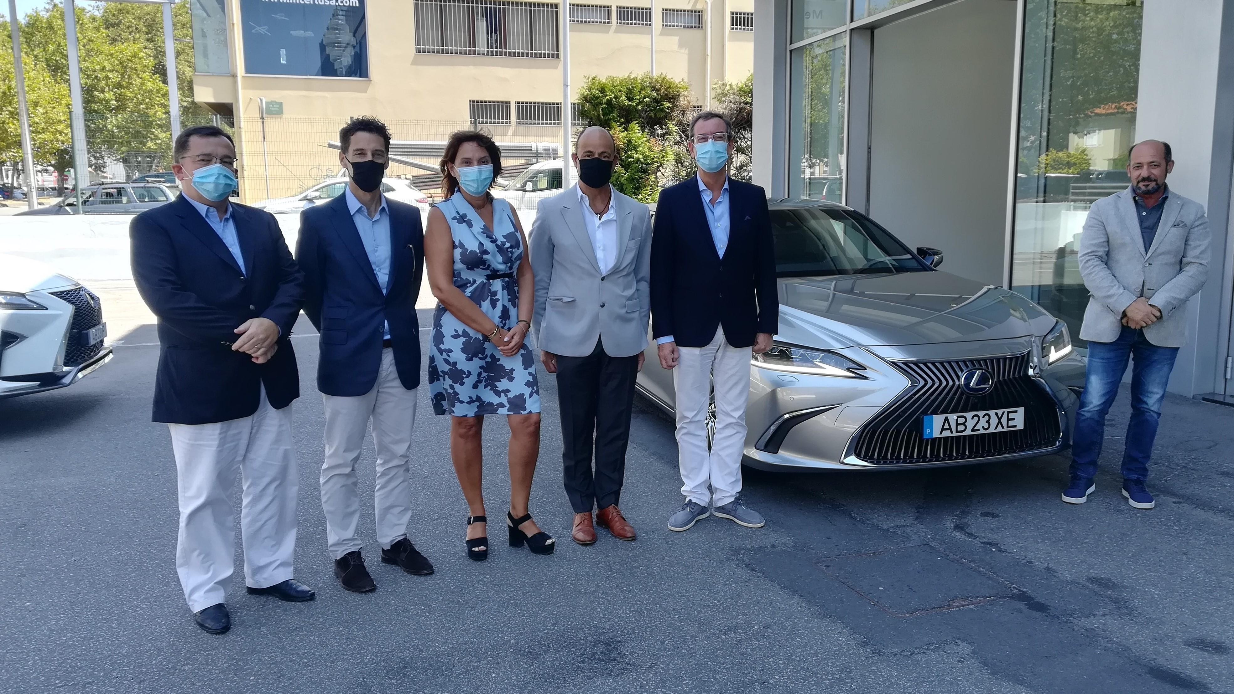 Lexus Portugal celebra protocolo