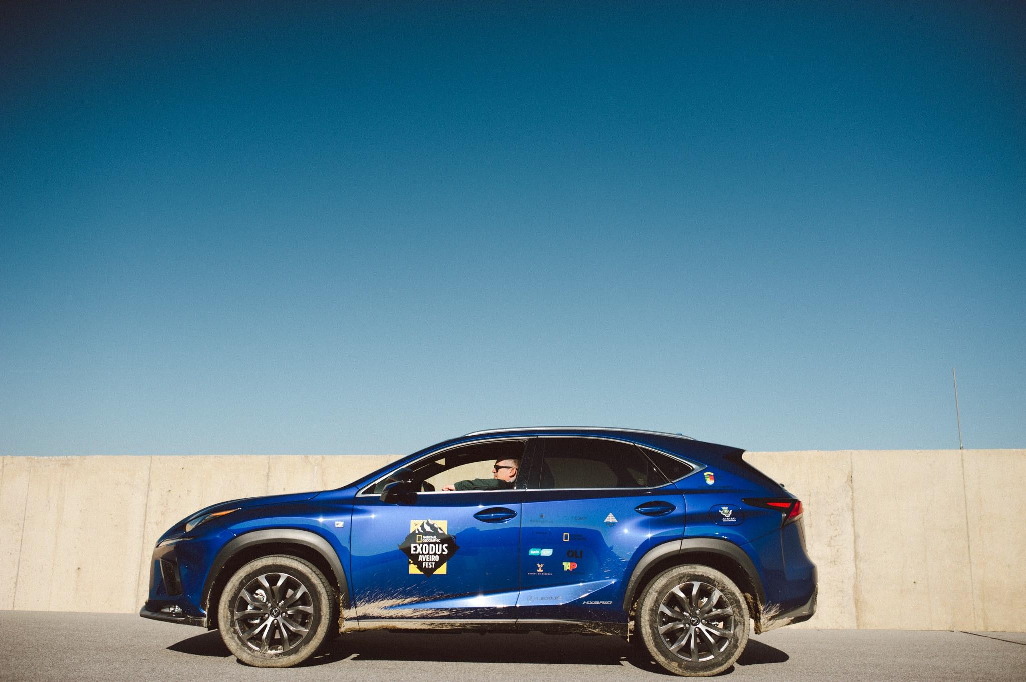 Lexus associa se ao National Geographic exodus Aveiro Fest