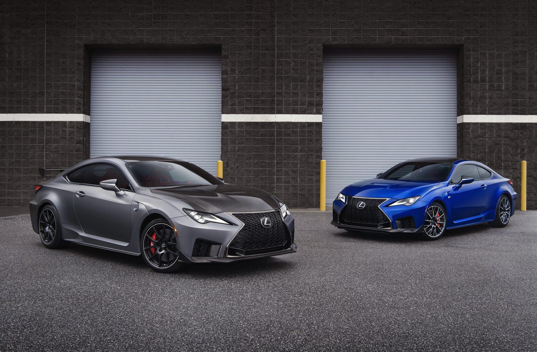 2020 Lexus RC F e RC F Track Edition estreiam se em Detroit