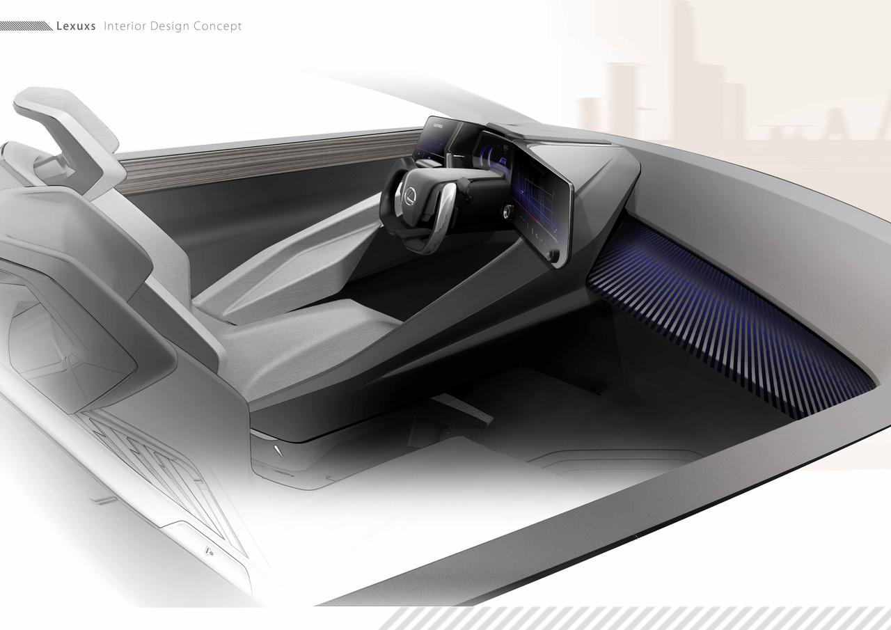Lexus convida designers para interior do LF z electrified Image