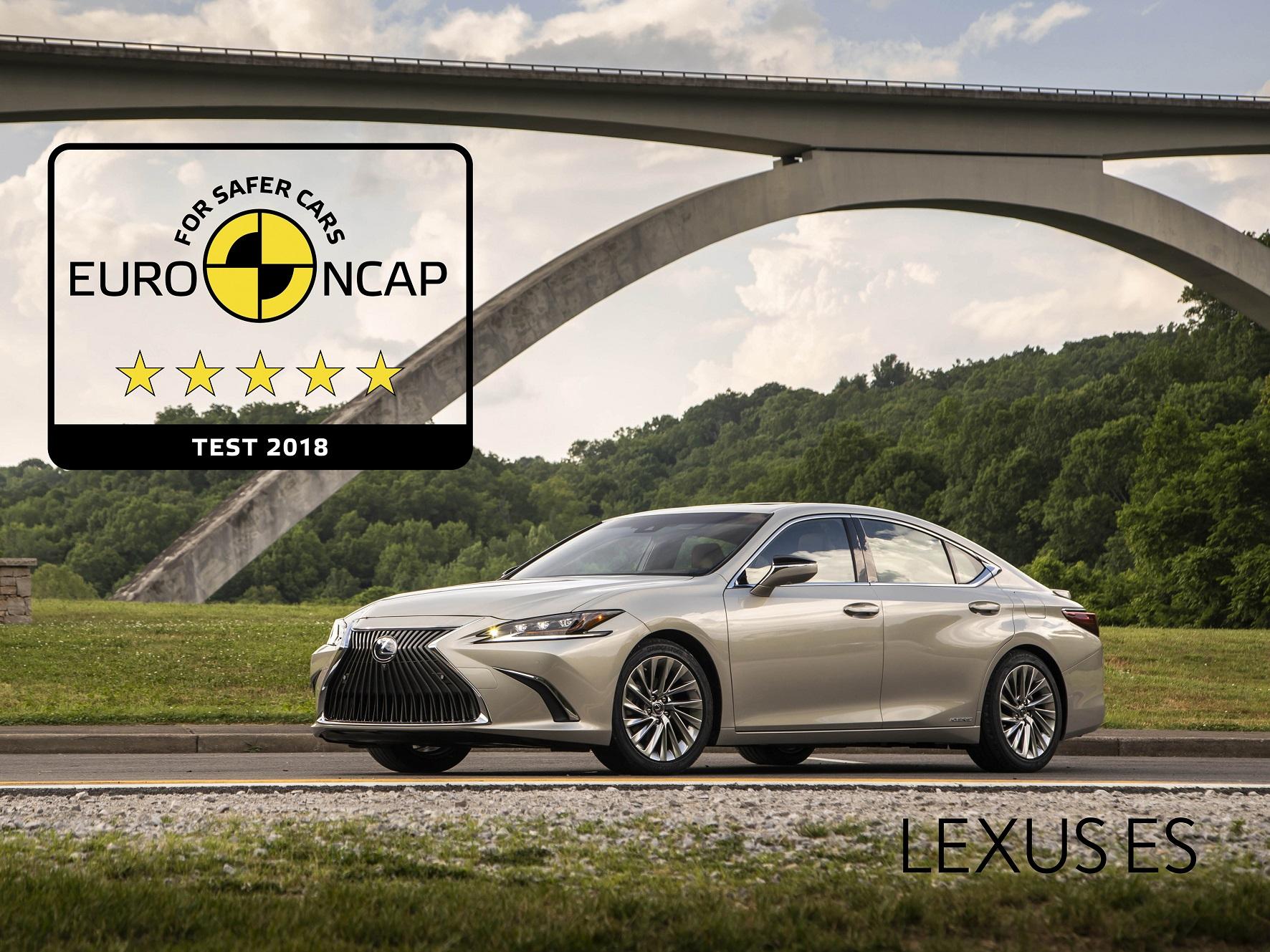 Novo Lexus ES Um dos mais seguros