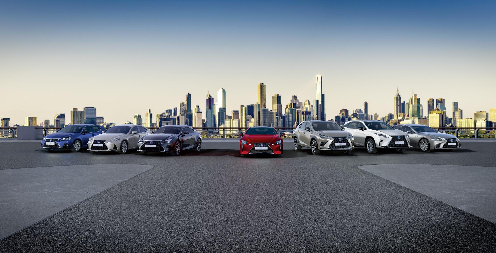 Lexus bate record na Europa pelo 5 ano consecutivo