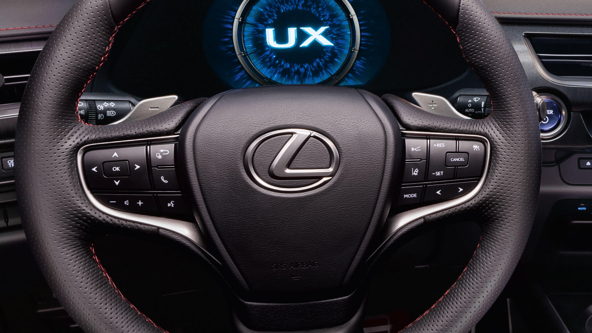 2018 lexus ux ru steering wheel
