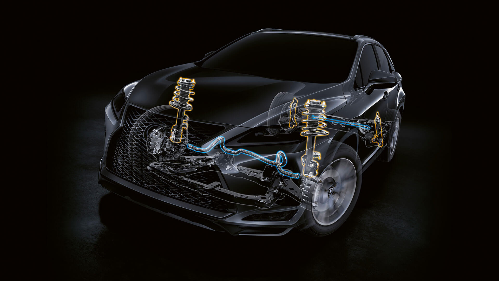2019 lexus rx hotspot exterior adaptive variable suspension