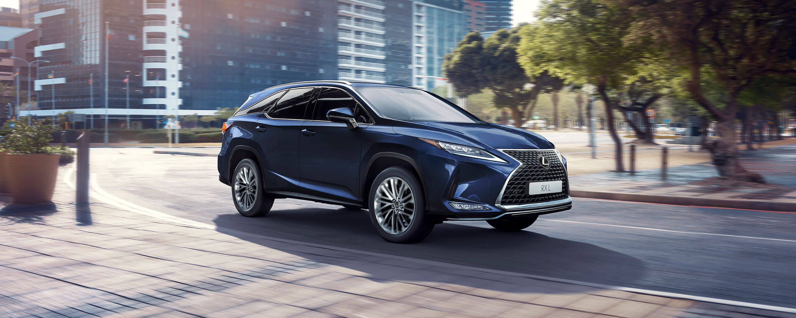 2019 lexus rxl experience front exterior