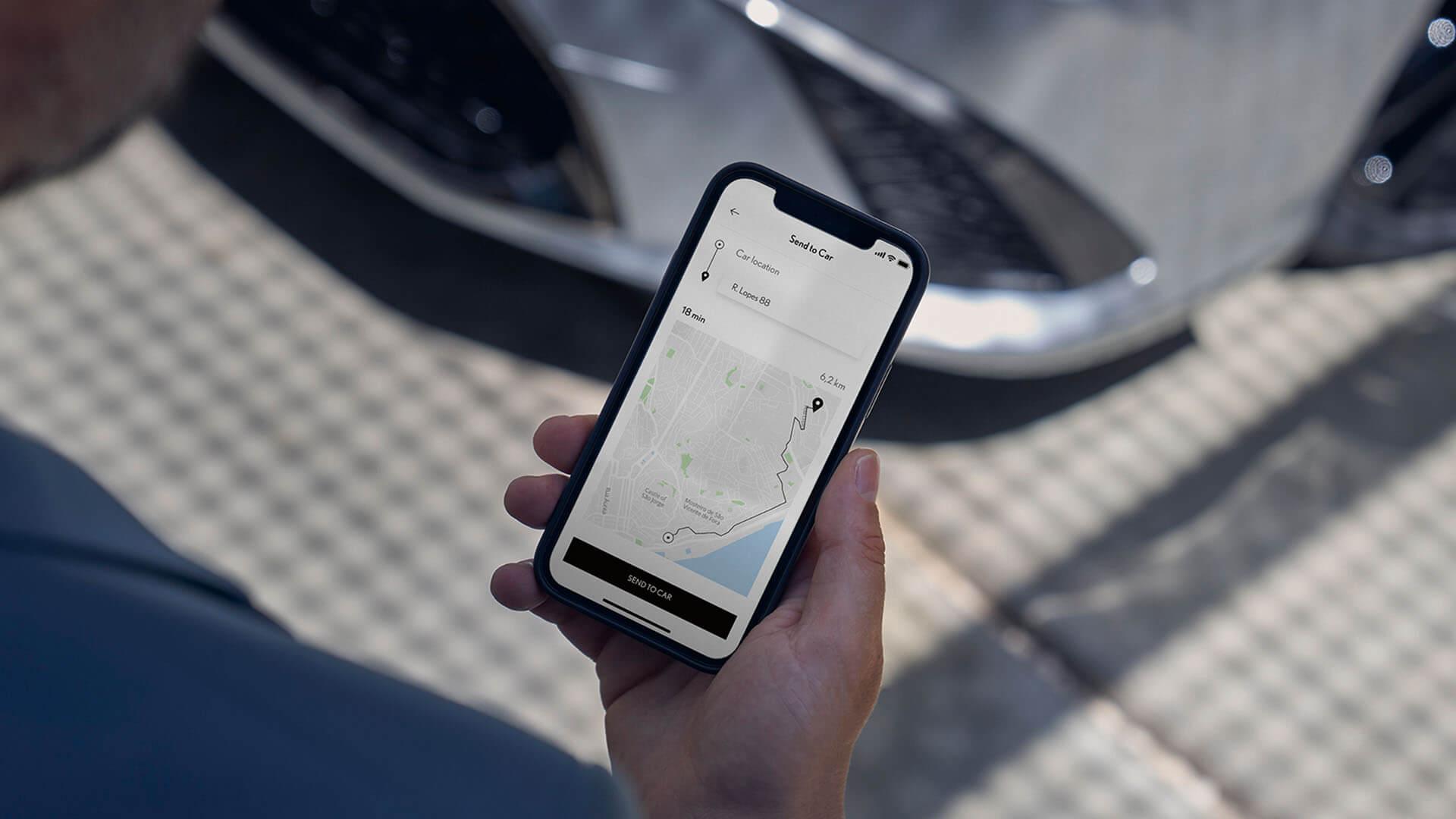 2022 RU lexus es experience interior front new lexus link connected services