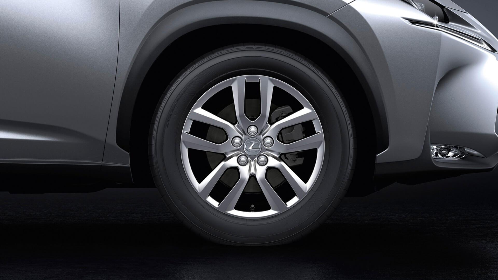 2017 lexus nx 200t features alloy wheels