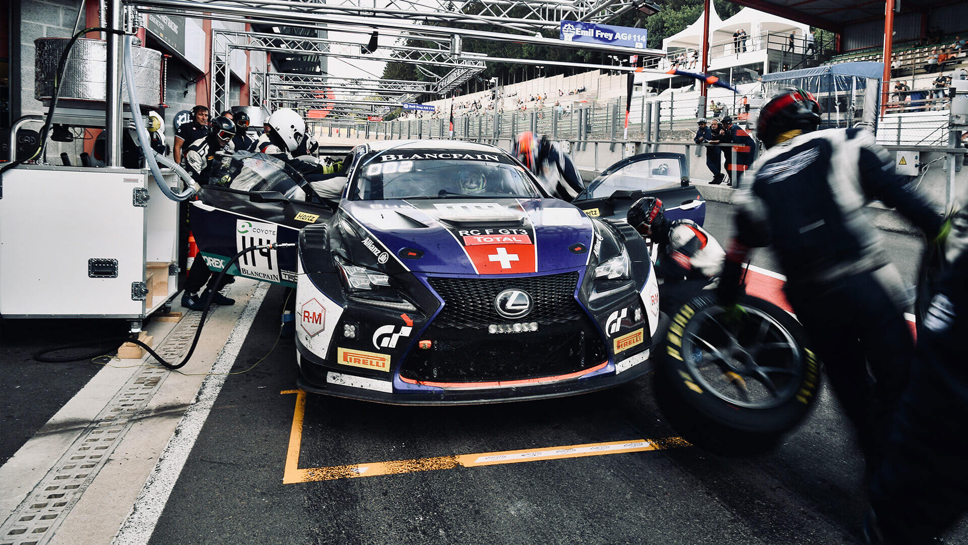 2018 lexus rc f gt3 24 hours spa 02