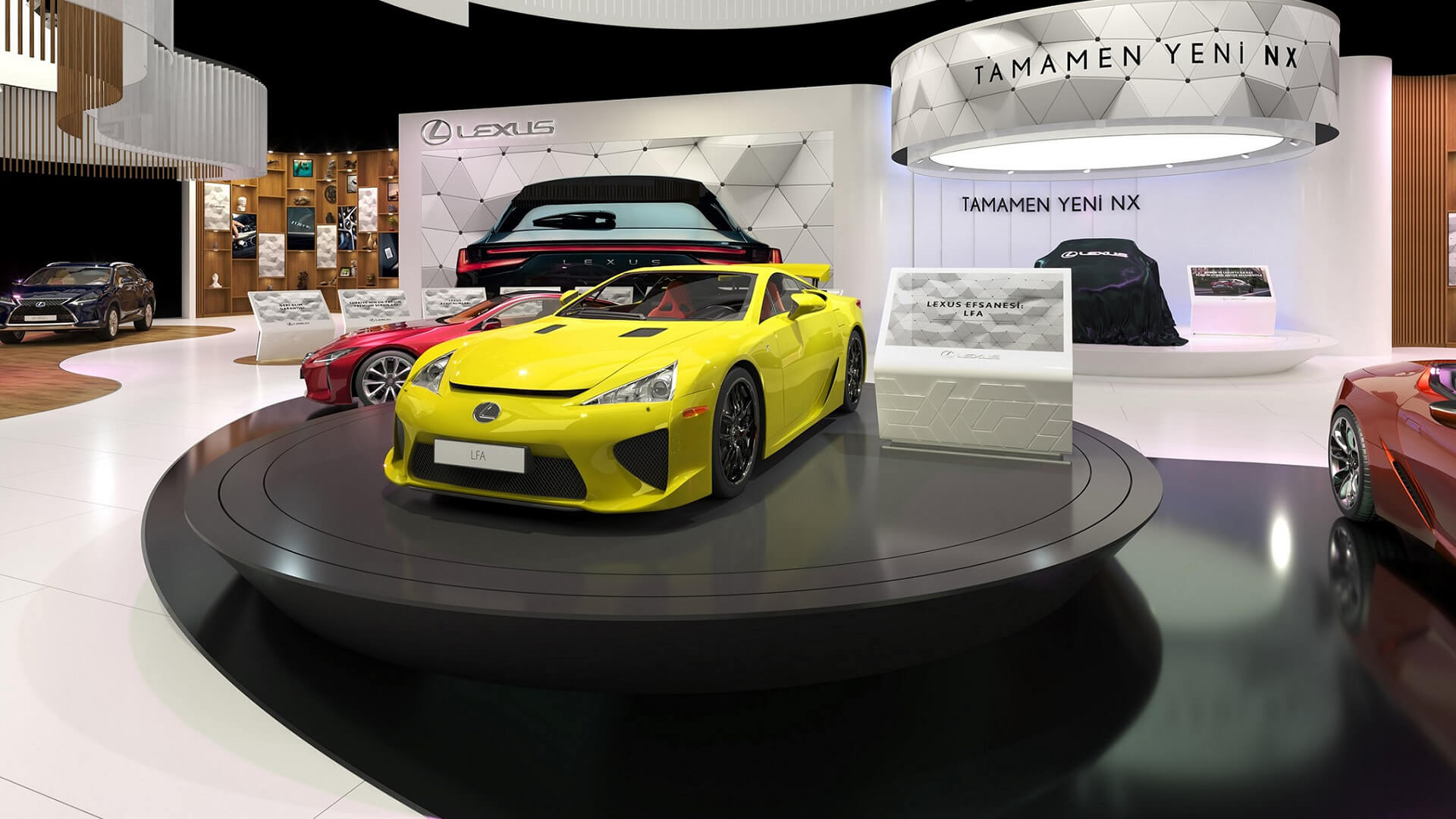 Lexus Autoshow Mobility Fuarı'na Damga Vurdu gallery01