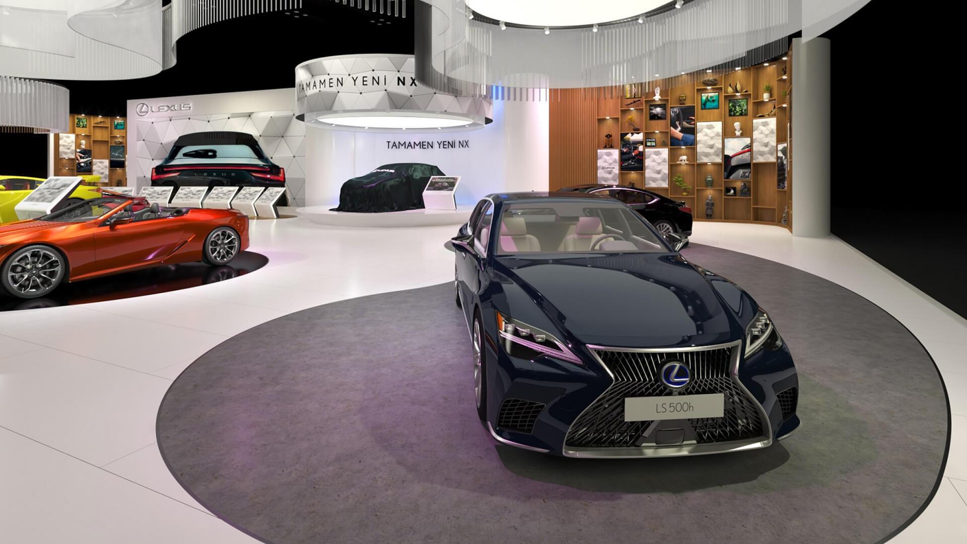Lexus Autoshow Mobility Fuarı'na Damga Vurdu
