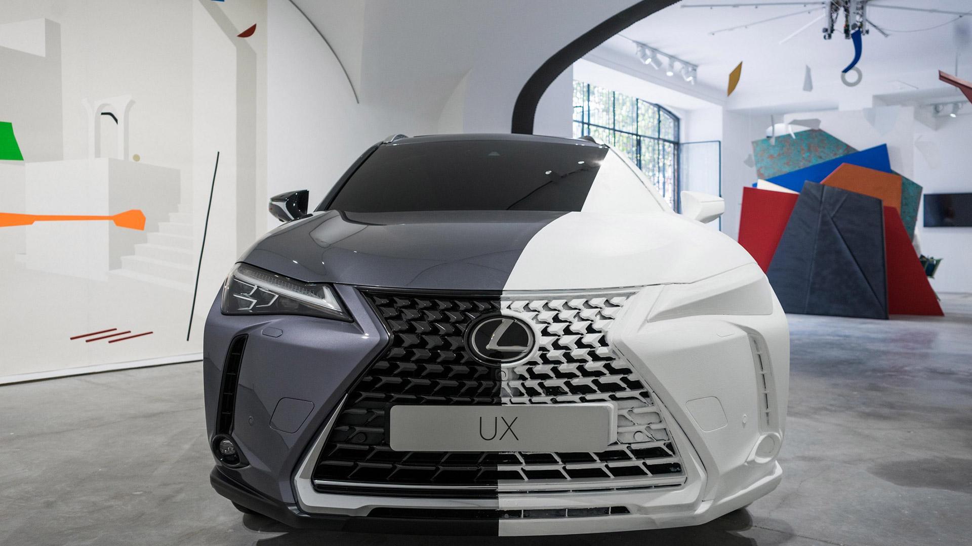 Lexus UX Art Space gallery01