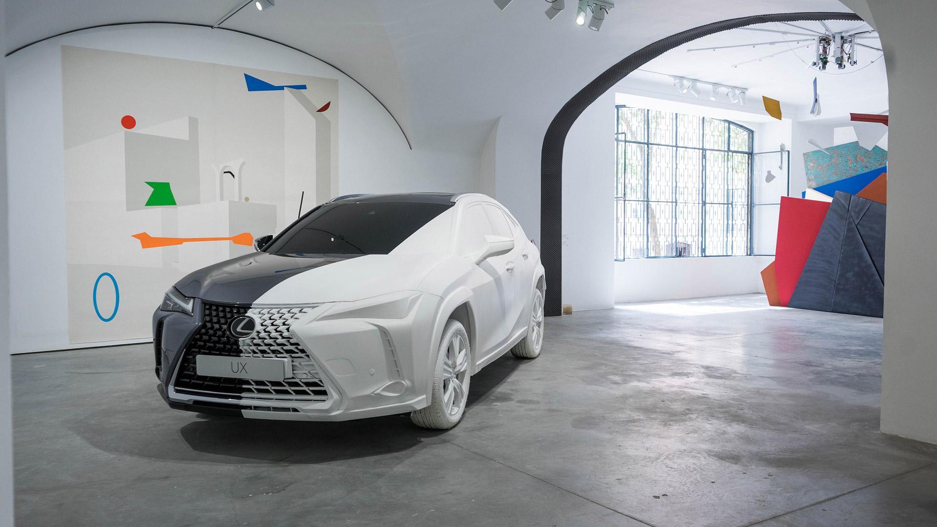 Lexus UX Art Space gallery05