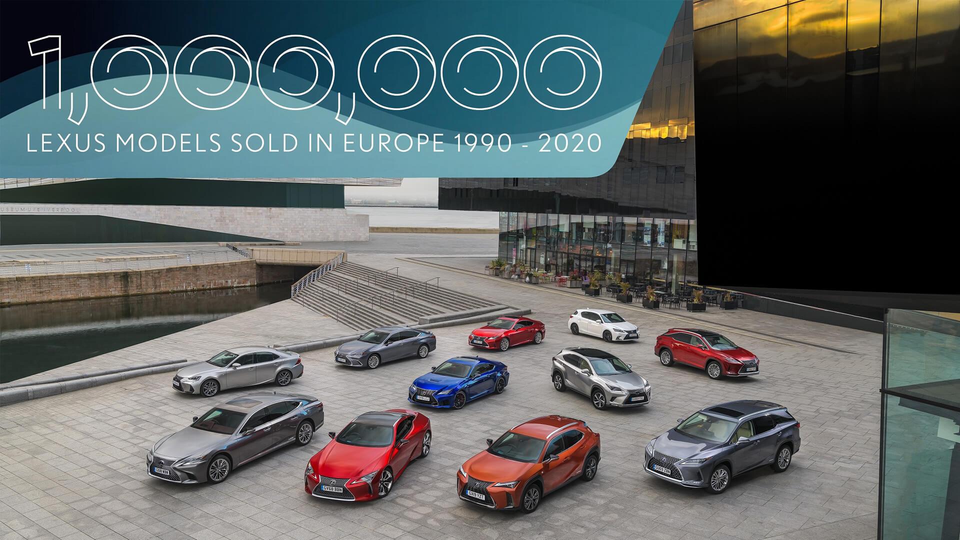 Lexus Avrupa'da 1 Milyon Satış Adedine Ulaştı gallery01