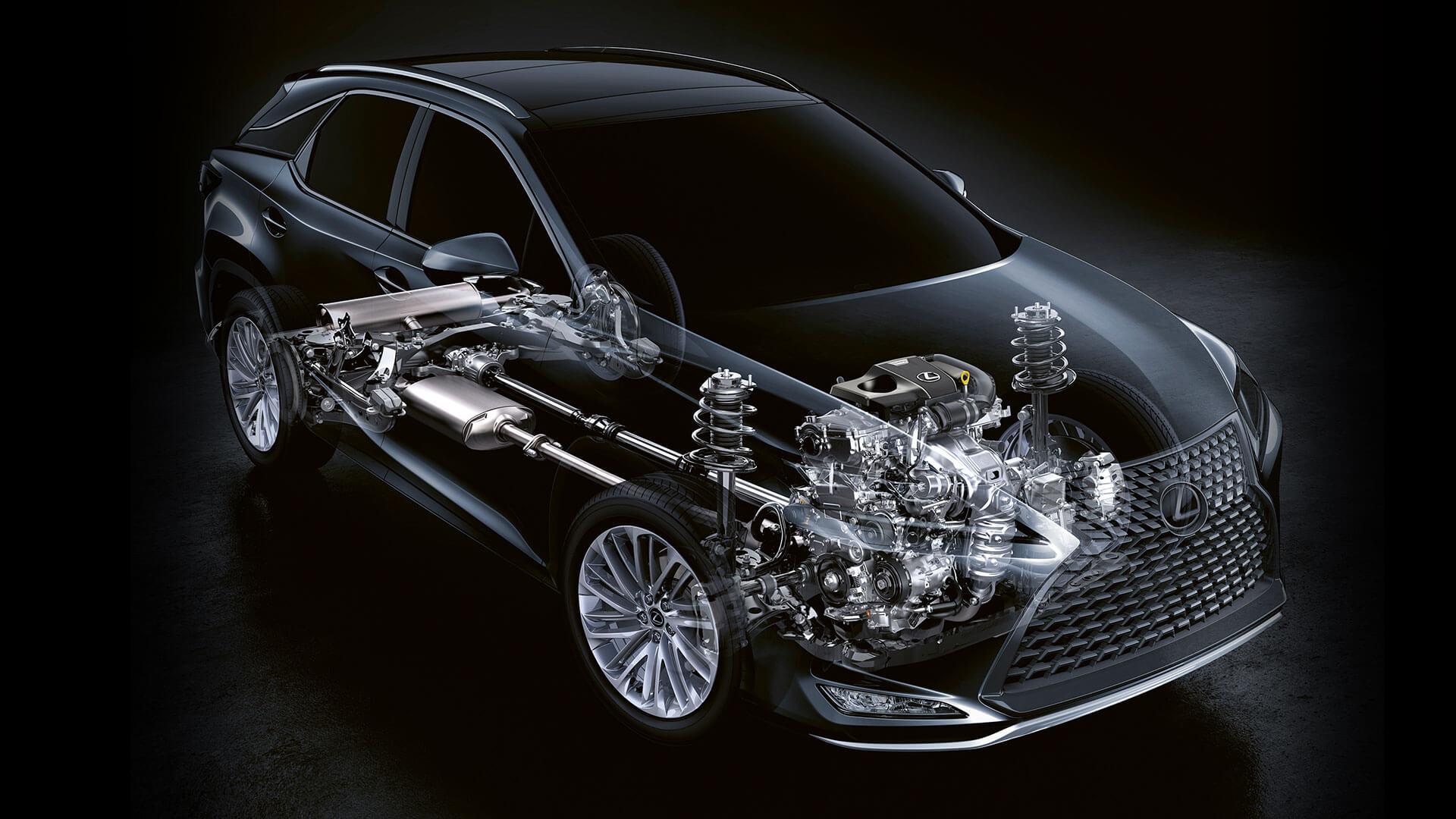 2019 lexus rxl hotspot petrol engine